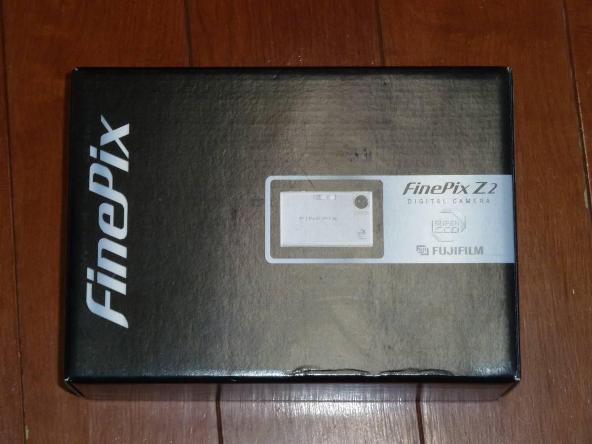 新品!送料無料!FinePix Z2 ブラック 512万画素 光学3倍
