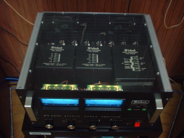 McIntosh マッキントッシュ MC2500用スケルトン天板(新品)-2セット_画像1