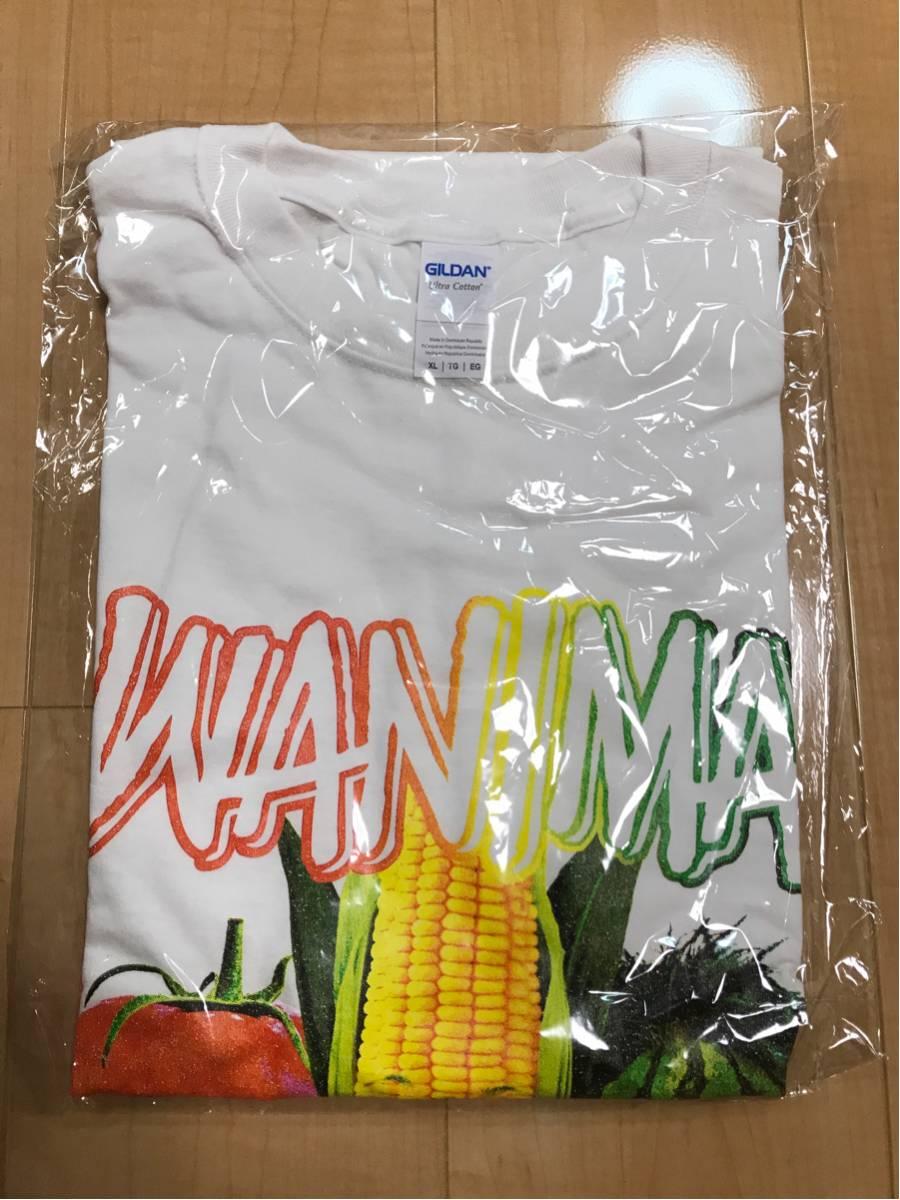 WANIMA 夏フェス ライブ会場限定グッズ 野菜顔 Tシャツ 白 XL 新品未使用 野菜