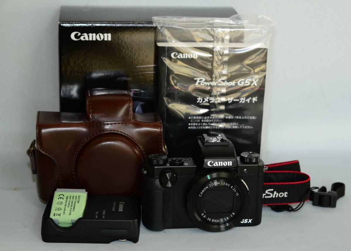 CANON PowerShot G5X 完動美品 おまけ付き