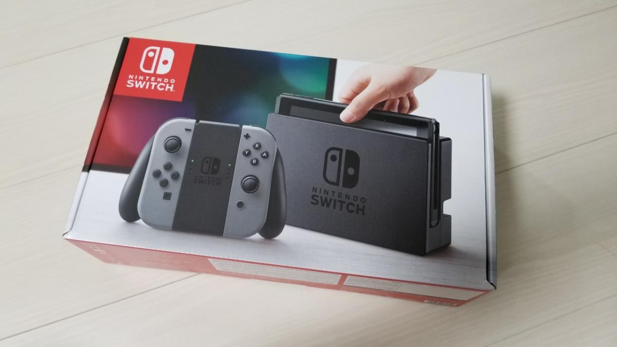 新品 未使用 Nintendo Switch グレー 本体 ニンテンドー スイッチ