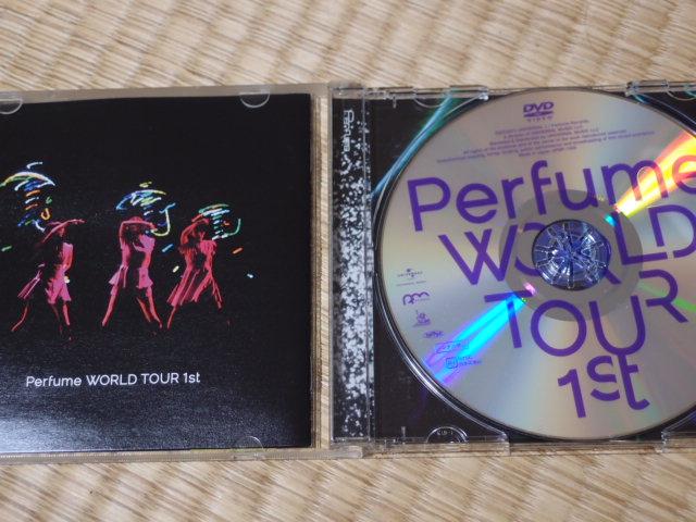 ♪1500円即決 Perfume WORLDTOUR 1st DVD クリックポスト送料無料 ライブグッズの画像