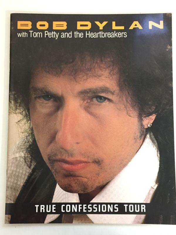 ツアーパンフ/ボブ・ディラン 1986 TRUE CONFESSIONS TOUR/E18/35