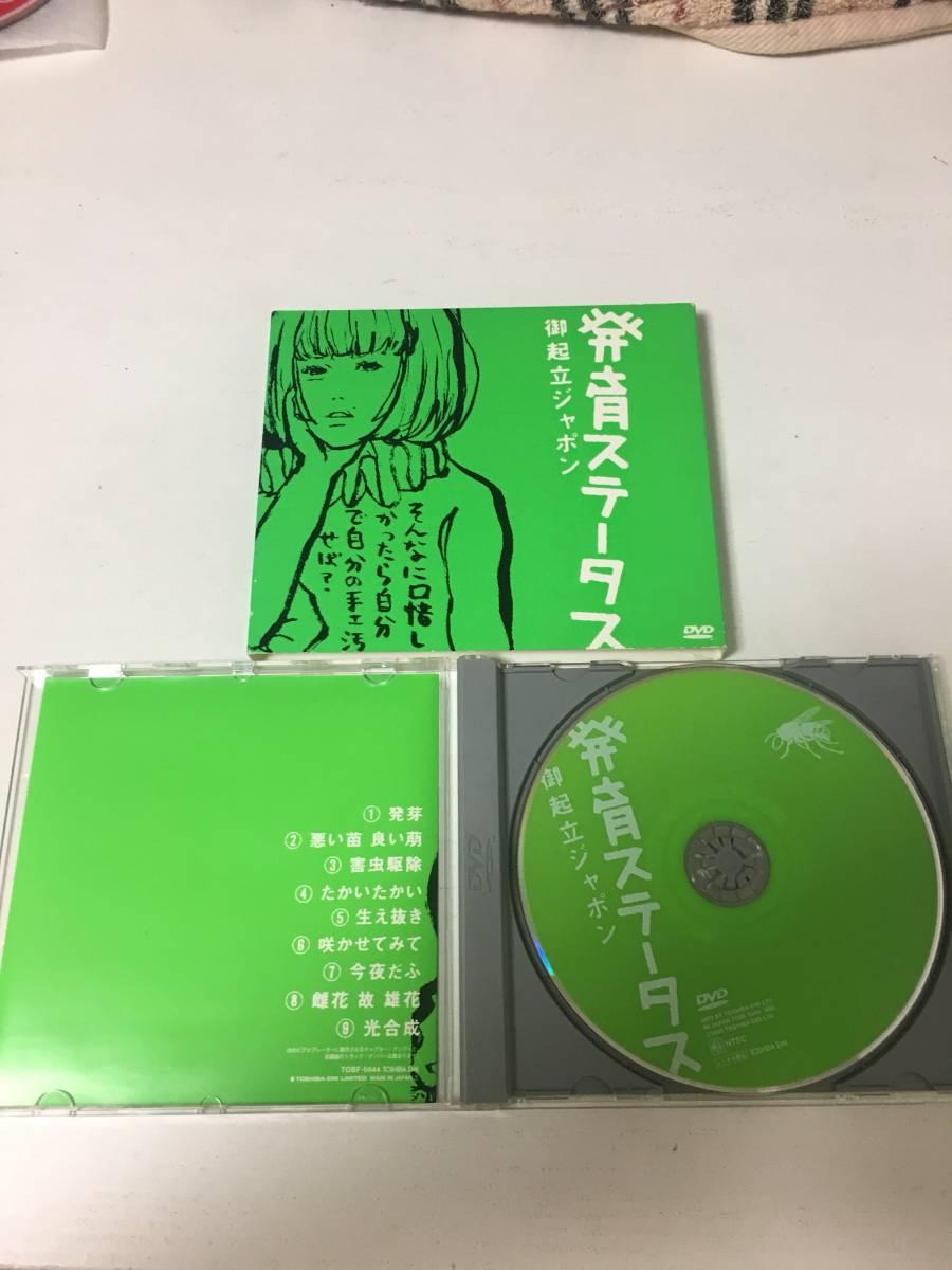 椎名林檎 御起立ジャポン 発育ステータス DVD ライブグッズの画像
