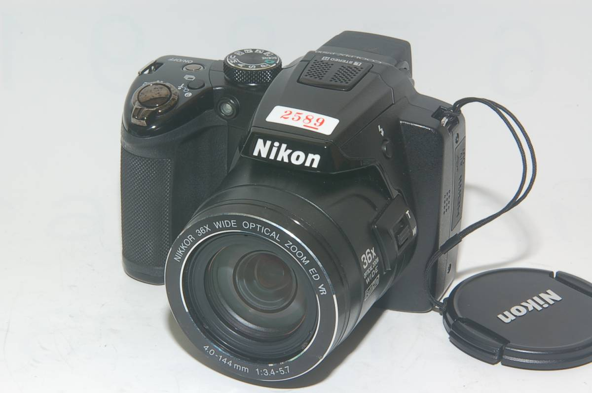 [MC]2589 ジャンク品 ニコンCOOLPIX P500