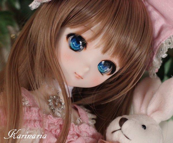 ◆Karinaria◆DDH-10カスタムヘッド+アイ3組 SW肌