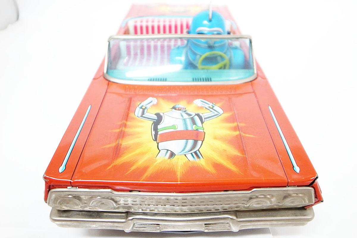鉄人28号 ブリキ玩具 野村トーイ製 自動車 車 オープンカー 当時物 超希少 レア i _画像2