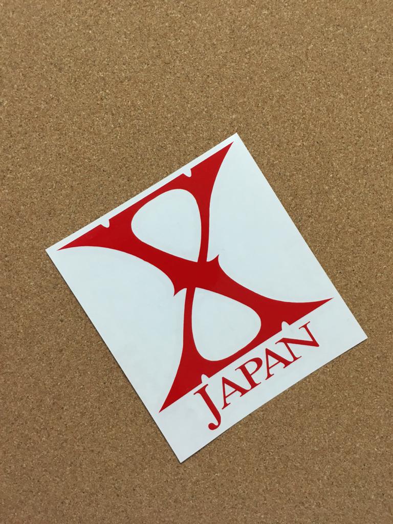 XJAPAN エックスジャパン ステッカー 【送料無料】