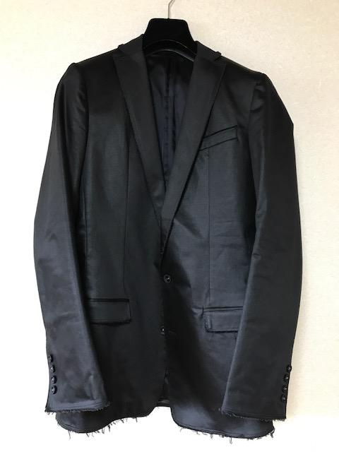 ミスチル桜井色違い着用ATOスーツSize48ジャケットはtourシフクノオト着用フランシストモークスATTACHEMENTSAINT LAURENT DIOR HOMME