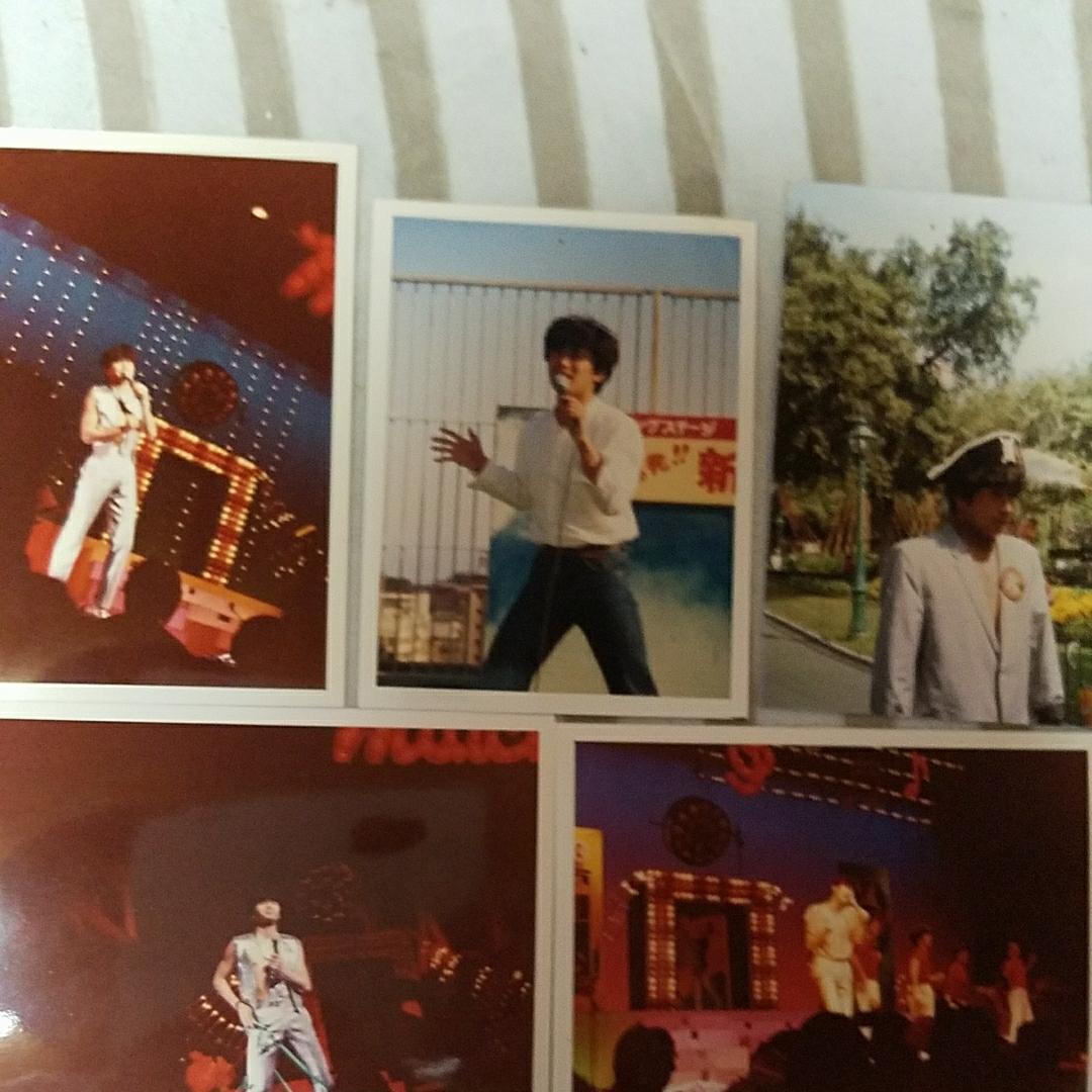 近藤真彦さんの生写真5枚