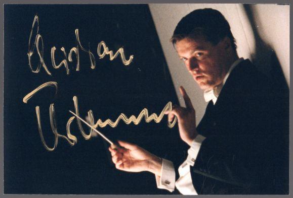 クリスティアン・ティーレマン(Christian Thielemann)☆直筆サイン(Autograph)入りポートレート