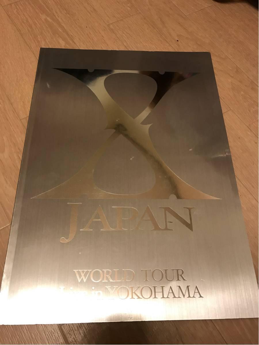 XJAPAN WORLD TOUR LIVE in YOKOHAMA パンフレット