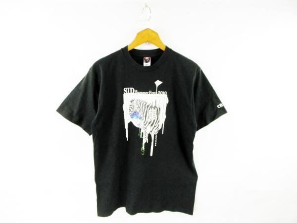 ★☆ STAFF専用 SID Summer Festa 2010 SAITAMA SUPER LIVE ライブ カットソー Tシャツ 黒 L ☆★ 【k-2138】