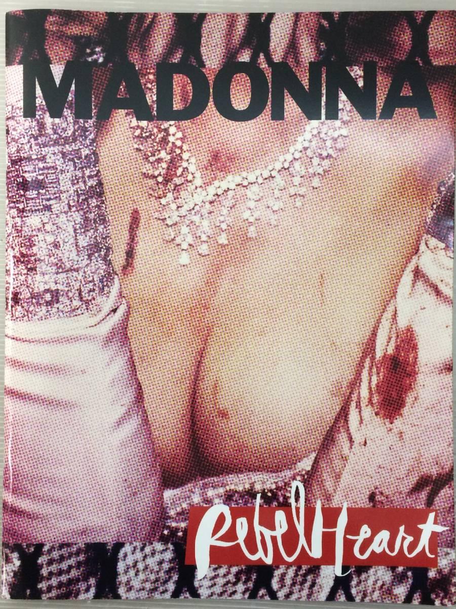 【TC】Madonna マドンナ Rebel Heart Tour パンフレット ライブグッズの画像
