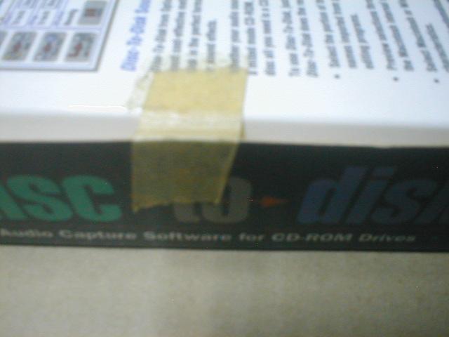 Disk to Disk 1.1 日本語版 Mac Optical Media AudioCaptureSoftカメオインタラクティブ扱い国内版_画像3