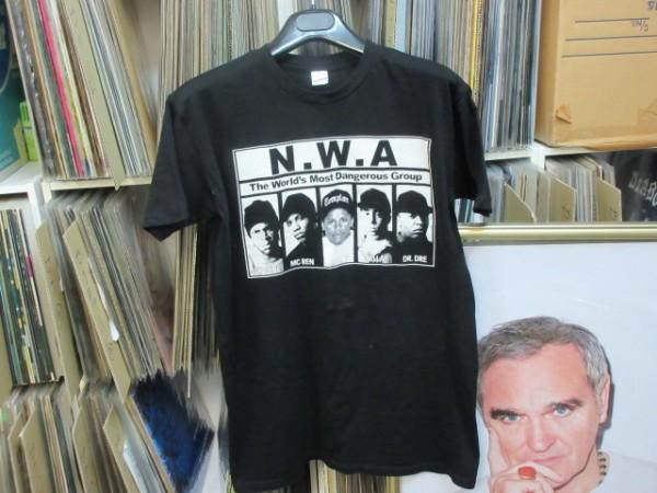 ◆未使用!!◆N.W.A.(Eazy-E,Dr. Dre,Ice Cube)◆Tシャツ 黒 M★Straight Outta Compton/ヒップホップ,ウェッサイ,LA,