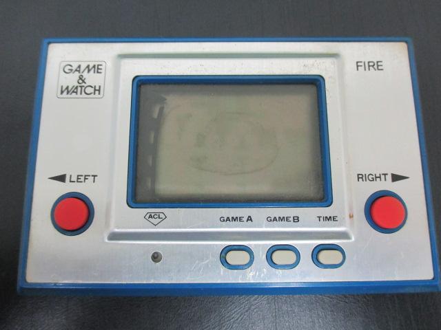 ゲームウォッチ ゲーム&ウォッチ ファイア・オクトパス FIRE・OCTOPUS ジャンク #18004-2_画像3
