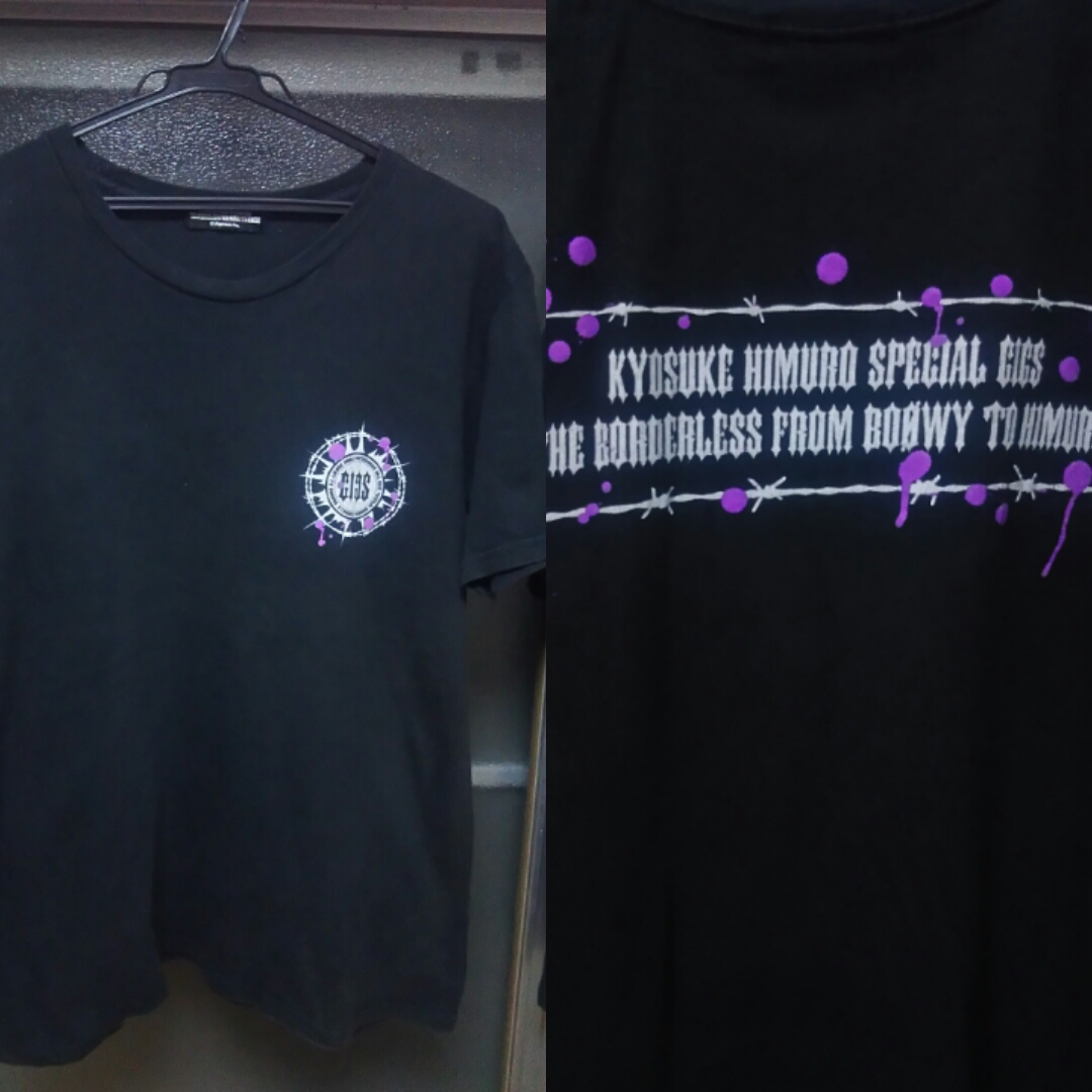 氷室京介 ライブTシャツ 3枚セット IN THE MOOD Crossover12~13 Borderess BoowyTo Hd
