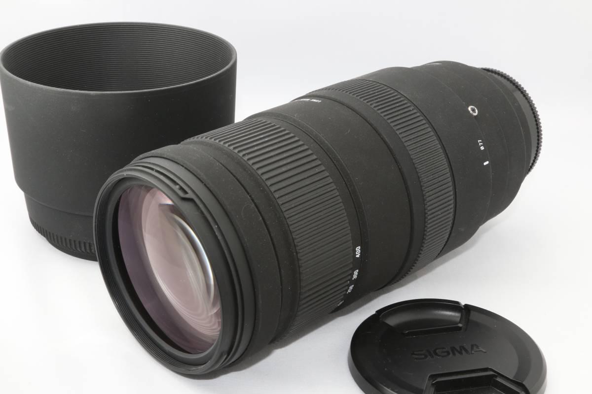 美品!SIGMA★APO 120-400mm F4.5-5.6 DG OS HSM ソニー用★シグマ 望遠