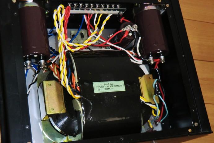 金田式 UHC MOS-FET 自作DCアンプ TS-180(パワートランス)☆441/12_画像2