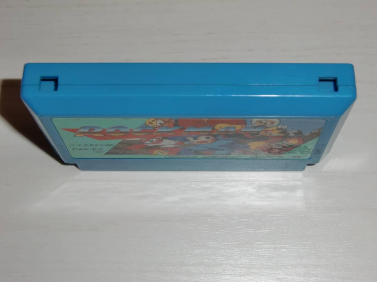 [FC版]ロックマン(ROCKMAN/Mega Man) カセットのみ カプコン(CAPCOM)製 ファミコン 初代作品 ソフトのみ 小難有A_画像3