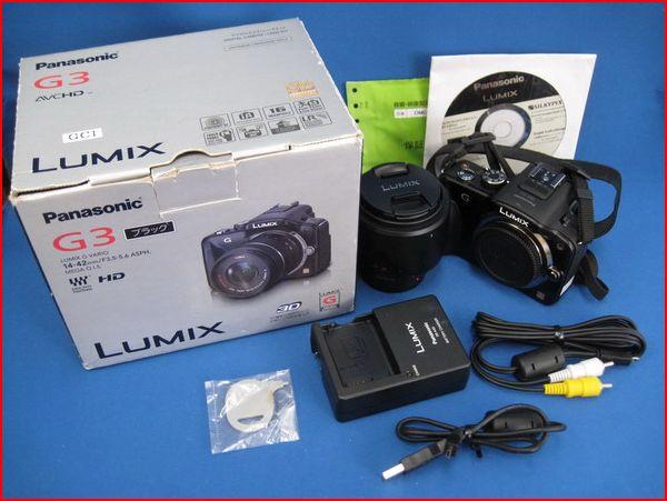 【1円~】 Panasonic/パナソニック DMC-G3K レンズキット LUMIX ルミックス