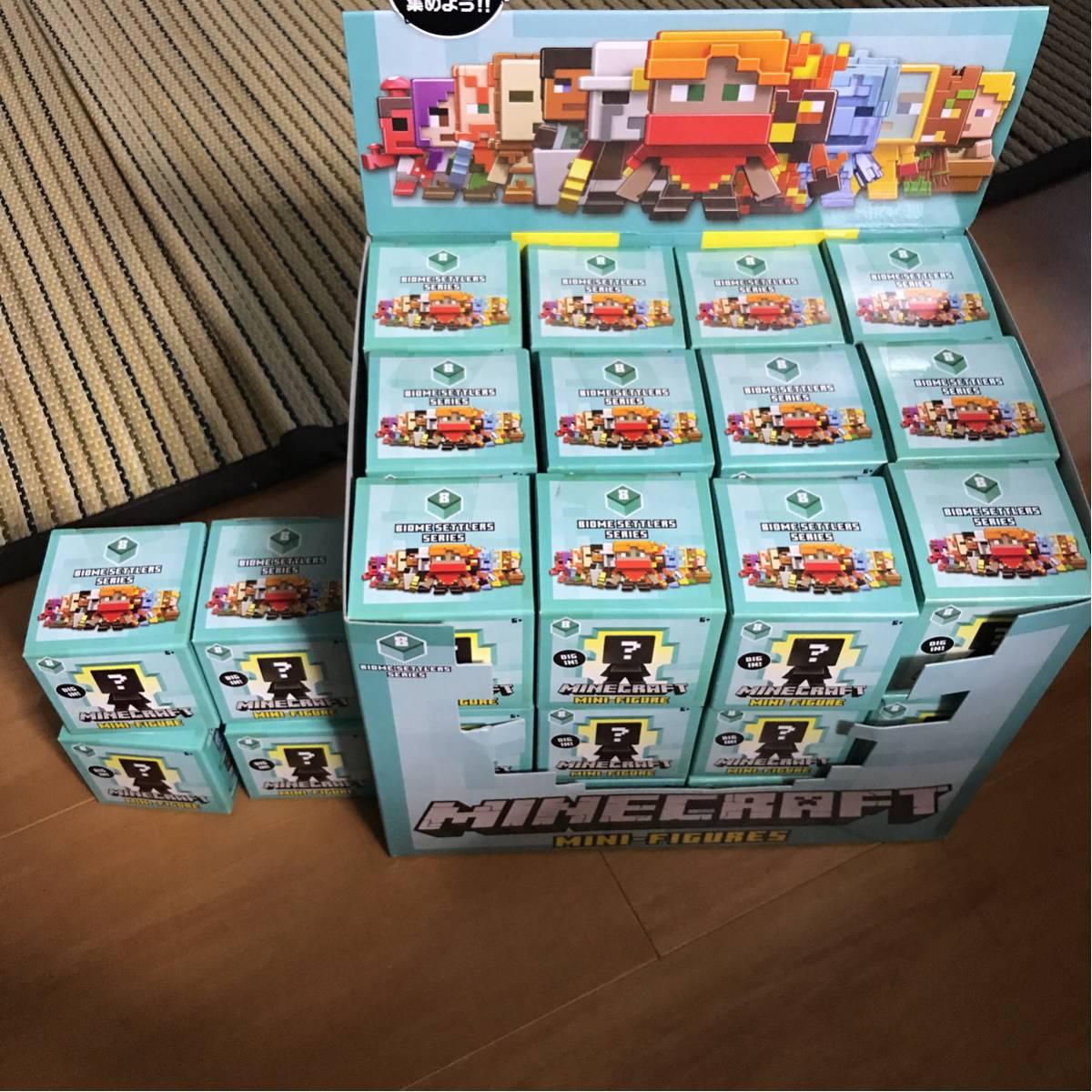 マイクラ マインクラフト ミニフィギュア バイオームセトラーズシリーズ 36個 おまけ グッズの画像