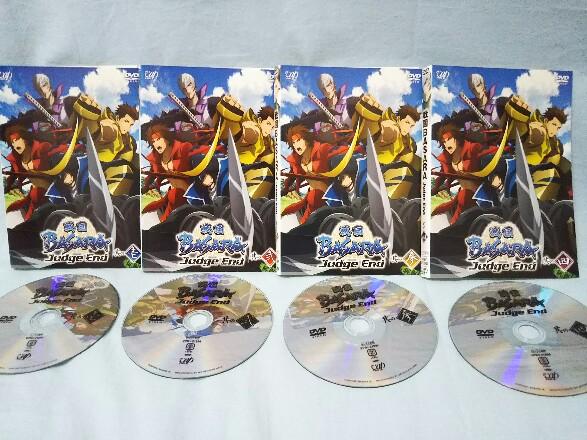 DVD『戦国BASARA Judge End』全4巻 レンタル版 グッズの画像