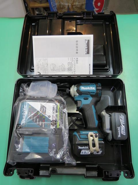 【未使用】マキタ 充電式インパクトドライバ TD160DRGX 14.4V 6.0Ah①