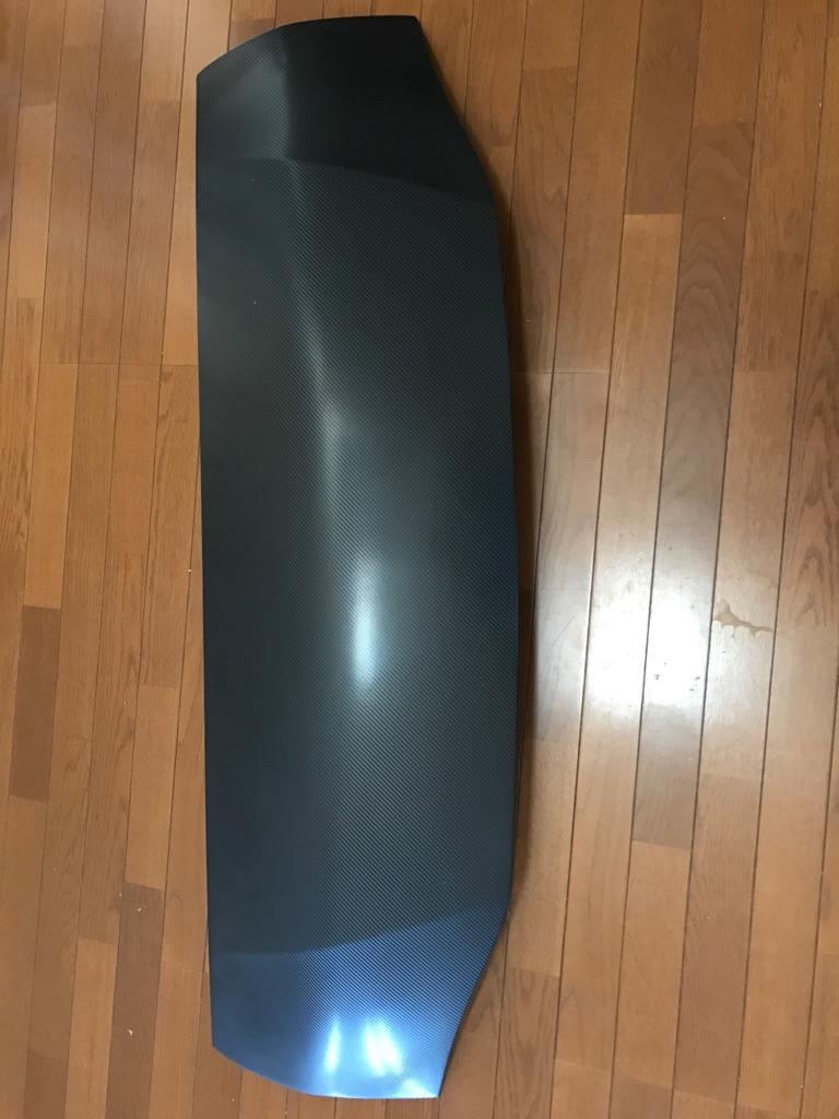 200系ハイエース バットフェイスボンネット ボクシースタイル カーボン058