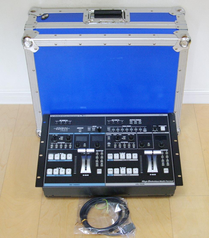 Roland V-440HD ver.2 ビデオミキサー ケース付 程度上#2 送料無料