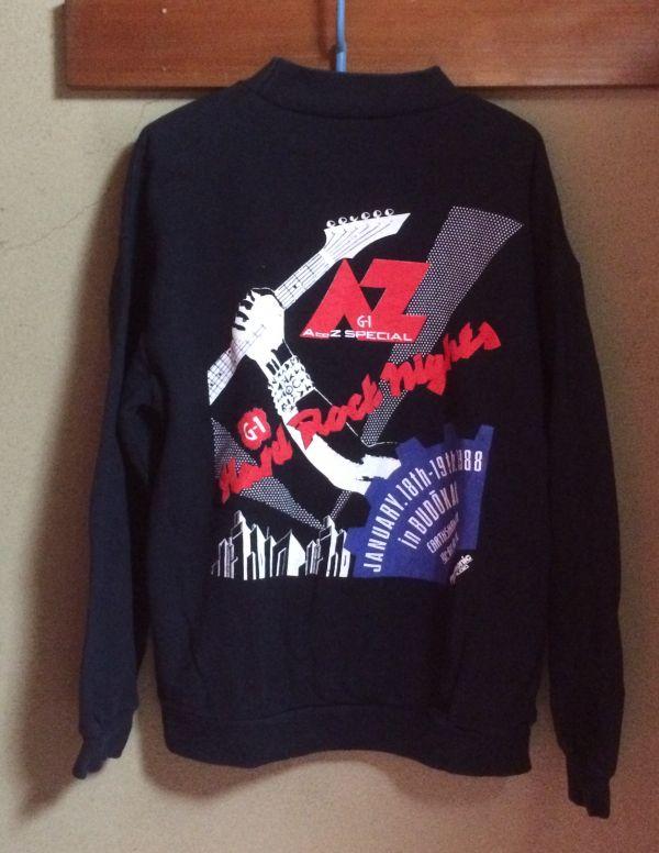 聖飢魔Ⅱ EARTHSHAKER アースシェーカー バンドTシャツ スウェット 美品 1988 武道館 レア 黒