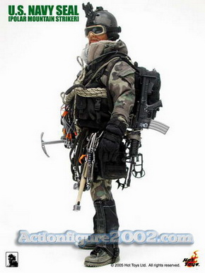 ホットトイズ製 1/6 U.S. NAVY SEAL 【クライムギアセット A】POLAR MOUNTAIN STRIKER ミリタリー 武器 銃_画像3