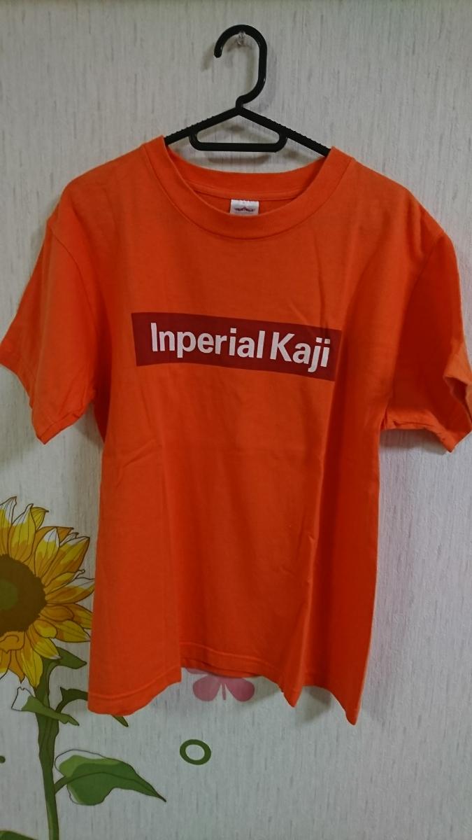 カジヒデキ 加地秀基 Tシャツ オレンジ
