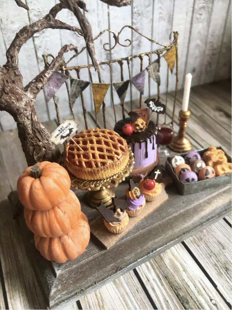 noecoro's 【ミニチュア】【ドールハウス家具】 Halloween Night set.