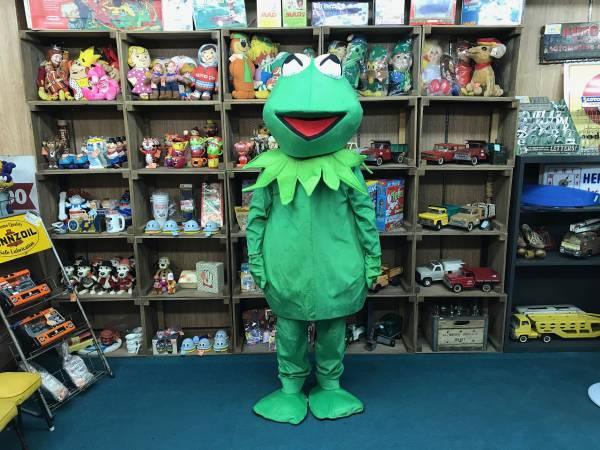 期間限定 セール セサミストリート かえる カエル マペット コスチューム 着ぐるみ イベント ハロウィン パーティー Kermit the Frog_画像1