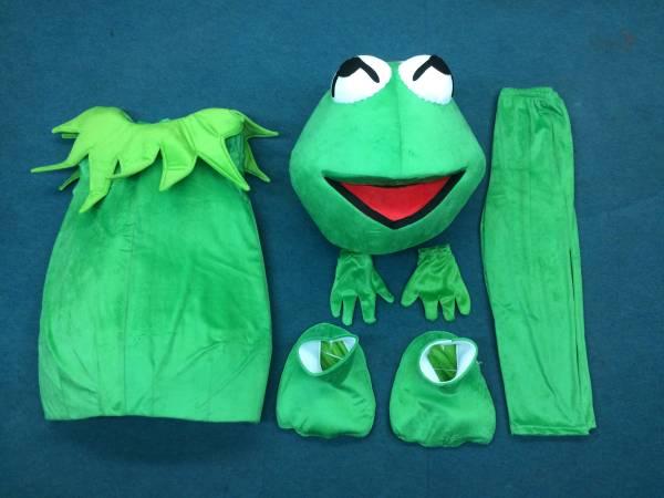 期間限定 セール セサミストリート かえる カエル マペット コスチューム 着ぐるみ イベント ハロウィン パーティー Kermit the Frog_画像3