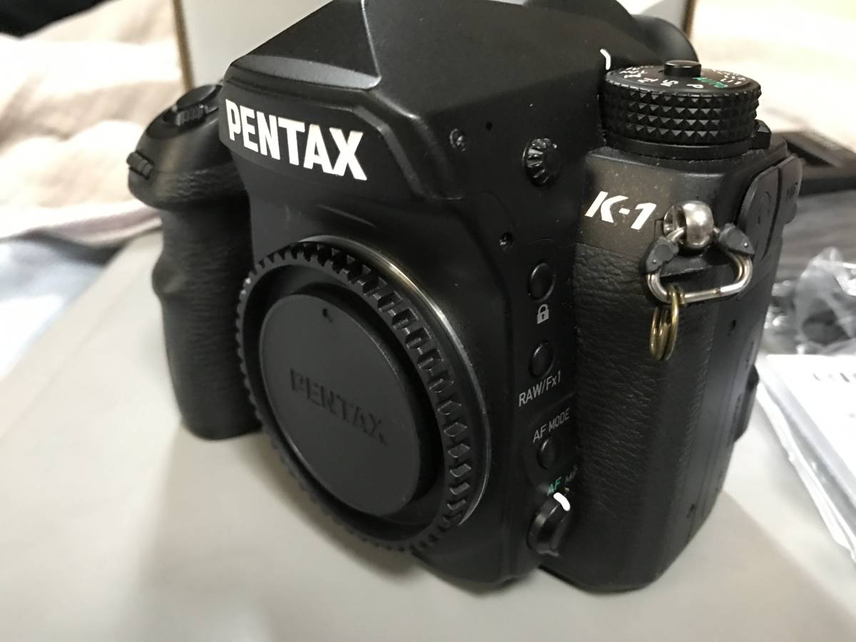 PENTAX ペンタックス K-1 ボディ メーカー保証残あり_画像2