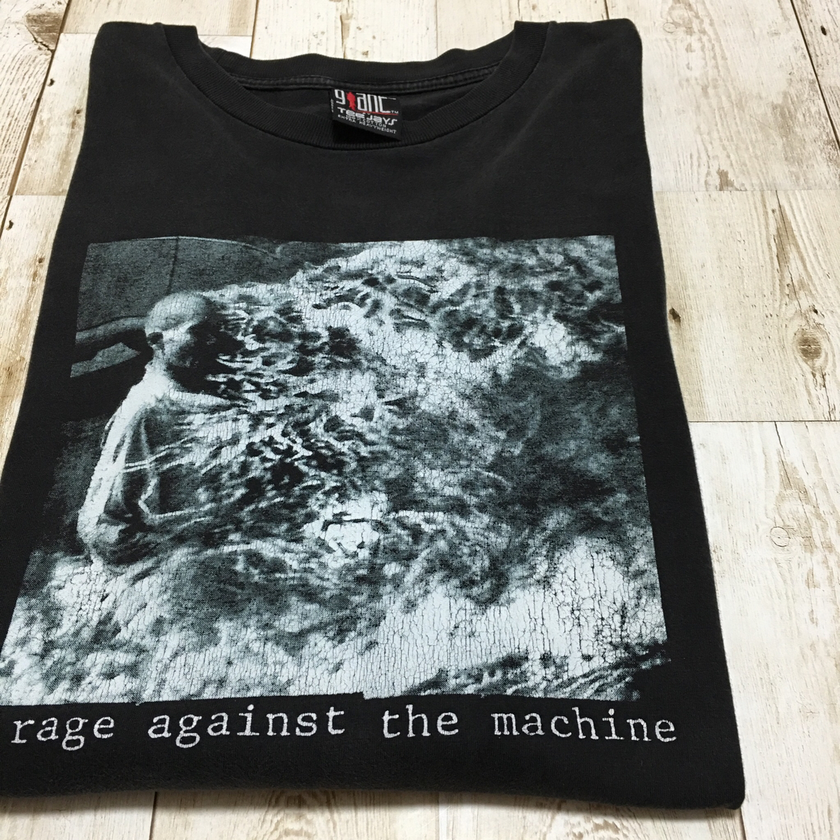 90年代 ヴィンテージ rage against the machine 初期 1st アルバム ロンT レイジ アゲインスト ザ マシーン レイジ