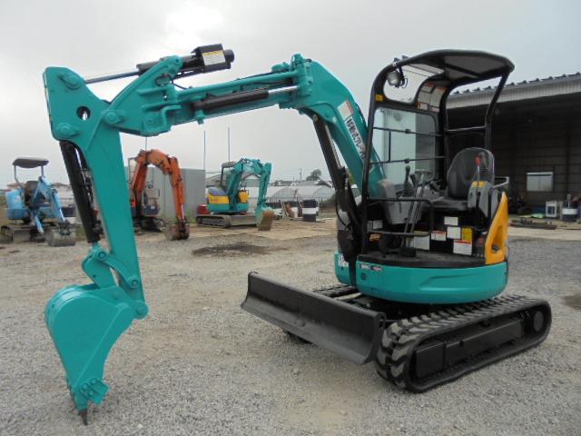 稼働1700時間 クレーン仕様 2011年製クボタ RX306 3t超小旋回 ユンボ 建設機械
