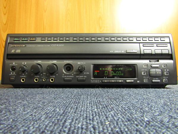 d-10 Pioneer CLD-K1100 両面再生LD/CDプレーヤー