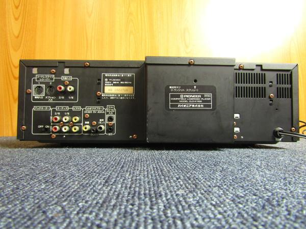d-10 Pioneer CLD-K1100 両面再生LD/CDプレーヤー_画像2