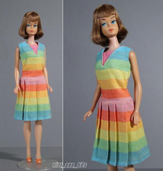 """□■ ビンテージBarbieファッション """" Fun'n Games """"ドレス ■□"""