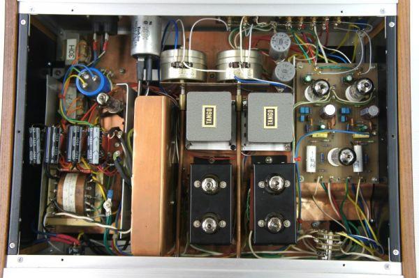 E13412】自作 真空管 プリアンプ ジャンク TANGO トランス他高級パーツ使用_画像2