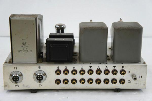 E14312】自作 真空管 コントロールアンプ WESTERN ELECTRIC 205E ×2 使用 ジャンク_画像3