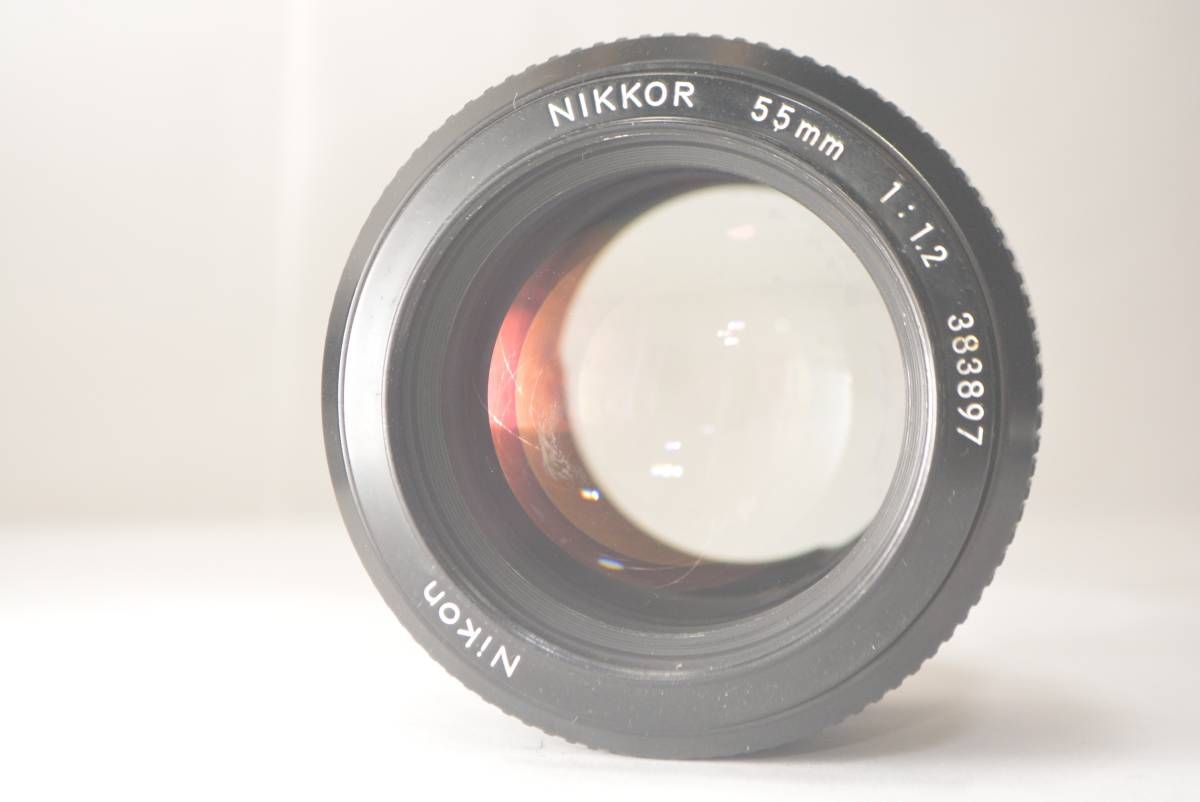 ★良品★ ニコン NIKON NEW NIKKOR 55mm f1.2