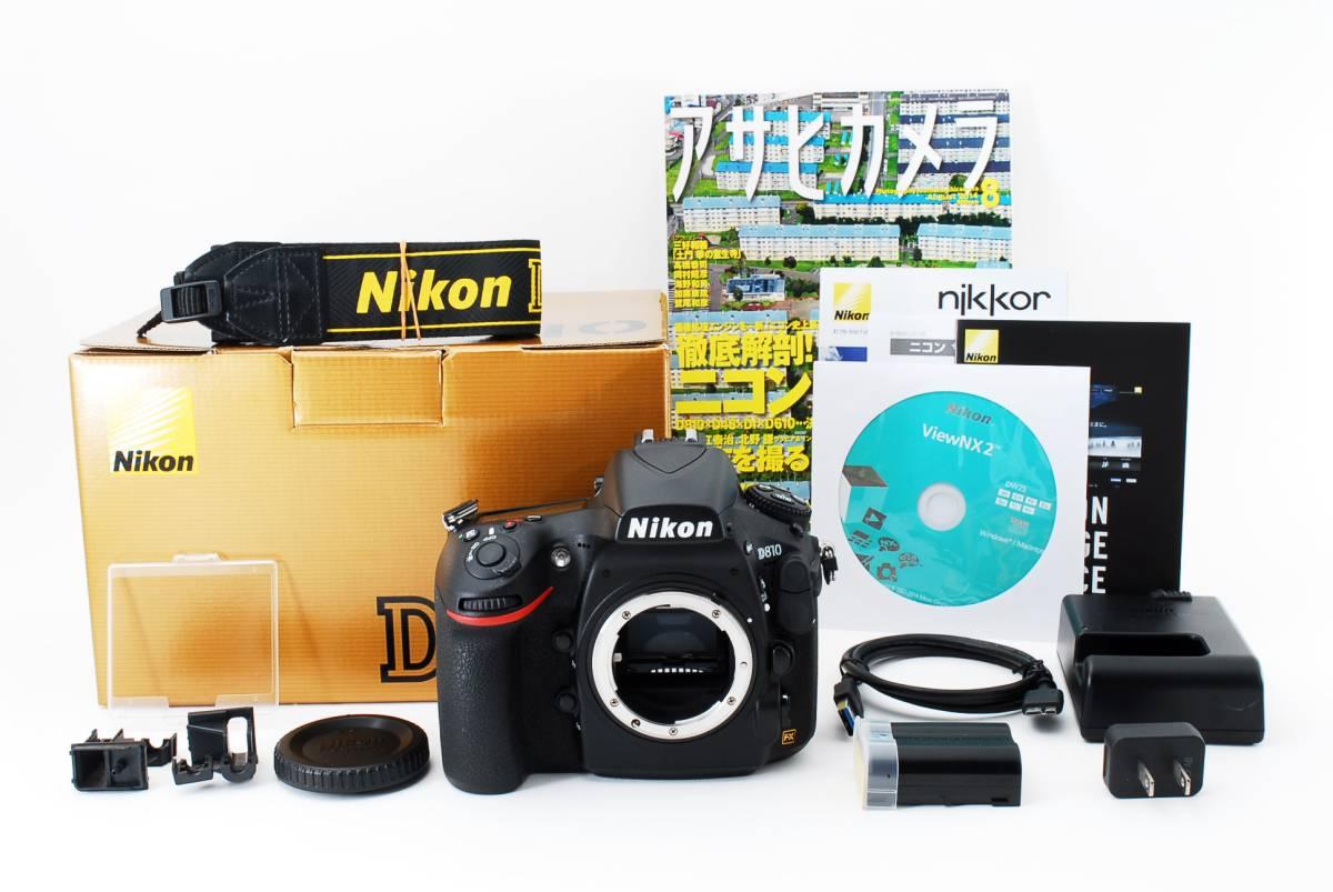 ★極上品★ ニコン Nikon D810 ボディ 付属品多数有り♪ #569