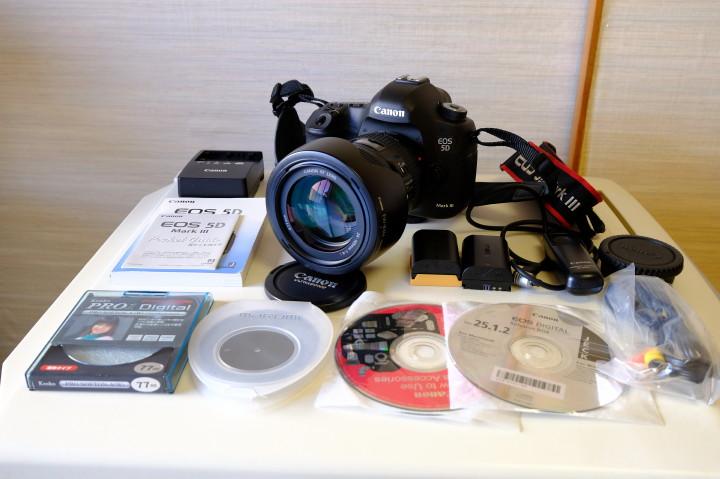 Canon EOS5D MARKⅢ EF24-105㎜F4LIS 多数おまけ付 送料無料