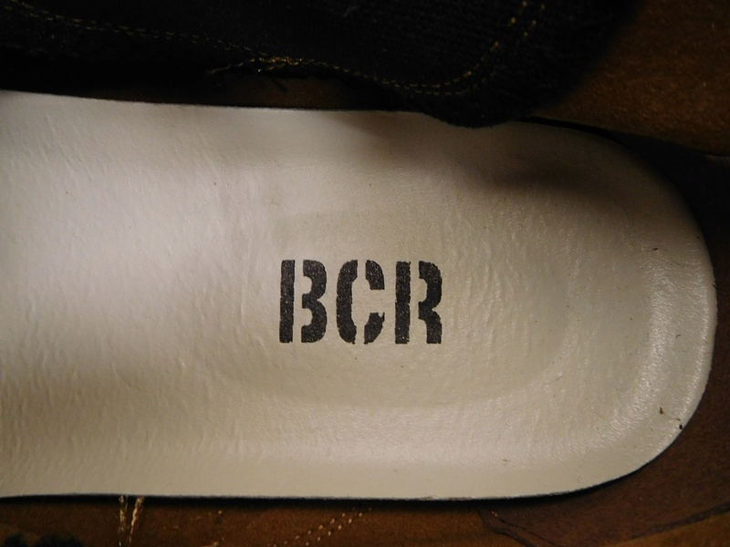 新品 BCR ビーシーアール マイクロファイバー サイドゴアブーツ スニーカー ブラウン 26.5㎝ / r91-4-1_画像3