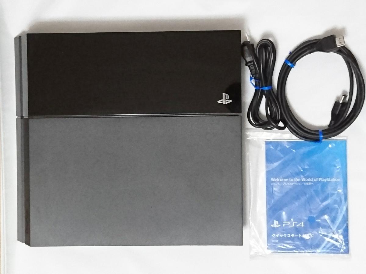 1円スタート PS4 500GB CUH-1000A ブラック 本体 動作確認済 動作良好品 プレステ4